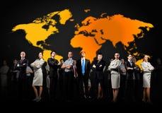 Groupe d'hommes d'affaires Photo libre de droits