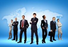 Groupe d'hommes d'affaires Image stock