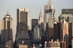 Groupe d'horizon de jour de NY photographie stock libre de droits