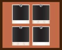 Groupe d'illustrations polaroïd Photographie stock libre de droits