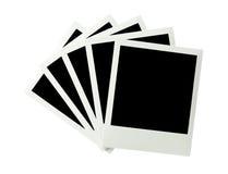 Groupe d'images instantanées Photographie stock