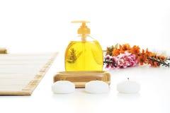 Groupe d'installation de massage prêt pour la détente Photos stock