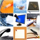 Groupe d'objets d'affaires image stock