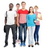 Groupe d'étudiants internationaux Photos libres de droits