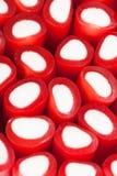 Groupe de bâtons de réglisse rouges Photo libre de droits
