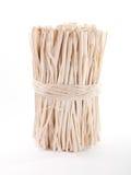Groupe de bâtons en bois bandés avec une corde Photo libre de droits
