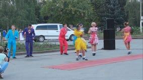 Groupe de ballet de l'ensemble scolaire o de chanson et de danse Photo libre de droits