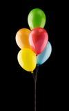 Groupe de ballons colorés Photographie stock