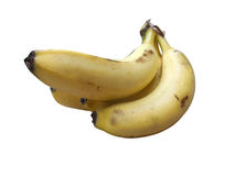 Groupe 4 de banane Image stock