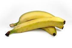 Groupe de bananes d'isolement sur le fond blanc Photo stock