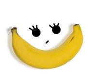 Groupe de bananes d'isolement sur le fond blanc Photos libres de droits