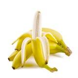 Groupe de bananes fraîches Photo libre de droits
