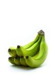Groupe de bananes vert jaunâtre Image libre de droits