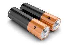 Groupe de batteries i Photos stock