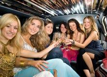 Groupe de belles femmes Photo stock
