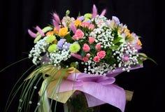 Groupe de belles fleurs Image libre de droits