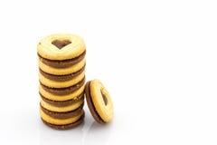 Groupe de biscuit de biscuit Photo stock
