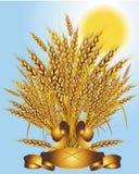 Groupe de blé illustration stock