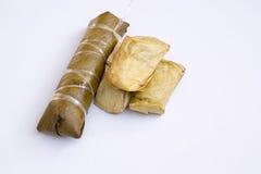 Groupe de bouillie de maïs, bonbons, Thaïlande, délicieux, naturelle, métiers Images stock