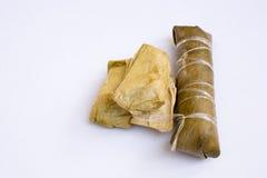 Groupe de bouillie de maïs, bonbons, Thaïlande, délicieux, naturelle, métiers Image libre de droits