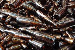Groupe de bouteilles Image libre de droits