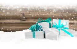 Groupe de cadeaux Photos stock