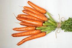 Groupe de carottes Images stock