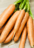 Groupe de carottes fraîches Photographie stock libre de droits