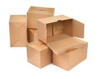 Groupe de carton Photos stock