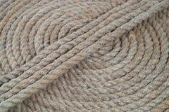 Groupe de cercle de corde de bateau Images libres de droits