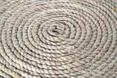 Groupe de cercle de corde de bateau Images stock