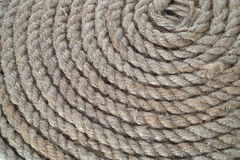 Groupe de cercle de corde de bateau Photo stock