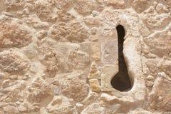 Groupe de château d'Atalaya Images libres de droits
