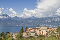 Groupe de Chambre en San Zeno di Montagna photo stock