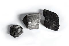 Groupe de charbon de bois photos libres de droits