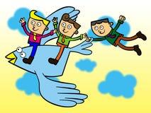 Groupe de ciel Image libre de droits