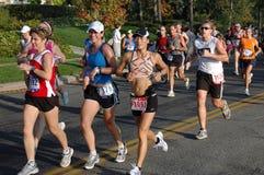 Groupe de citoyens de marathon Photos libres de droits
