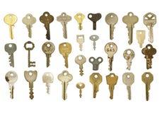 Groupe de clés Image libre de droits