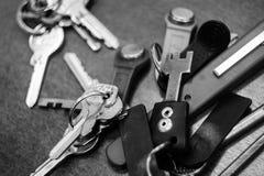 Groupe de clés photographie stock libre de droits