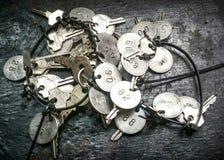 Groupe de clés photos libres de droits
