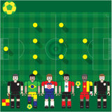 Groupe A de coupe du monde Image stock