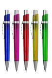Groupe de crayons lecteurs multicolores Image stock