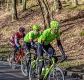 Groupe de cyclistes - 2017 Paris-gentil photos libres de droits