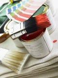 Groupe de décorer des objets Photos libres de droits