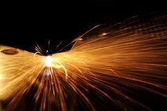 Détail de coupe de laser photographie stock libre de droits
