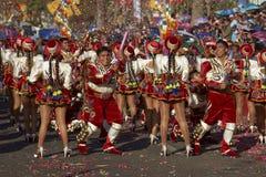 Groupe de danse de Caporales - Arica, Chili Photographie stock libre de droits