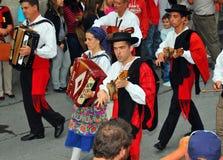 Groupe de danse de Portugais Photos libres de droits