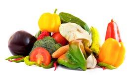Groupe de différents légumes Photos stock