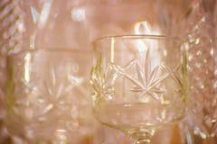 Groupe de divers verres Images stock