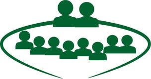Groupe de famille Image libre de droits